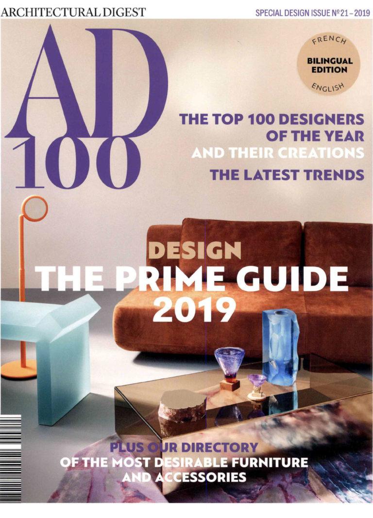 Simone Bonanni AD 100 Special Design Issue 2019