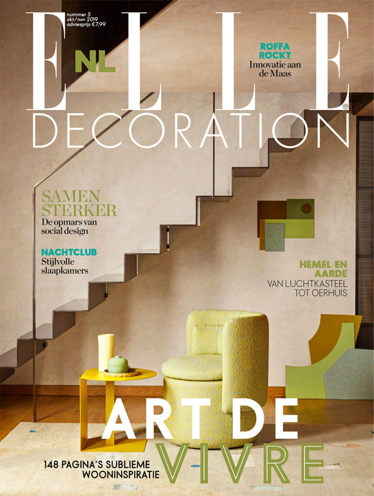 Simone Bonanni ELLE DECORATION NL October/November 2019