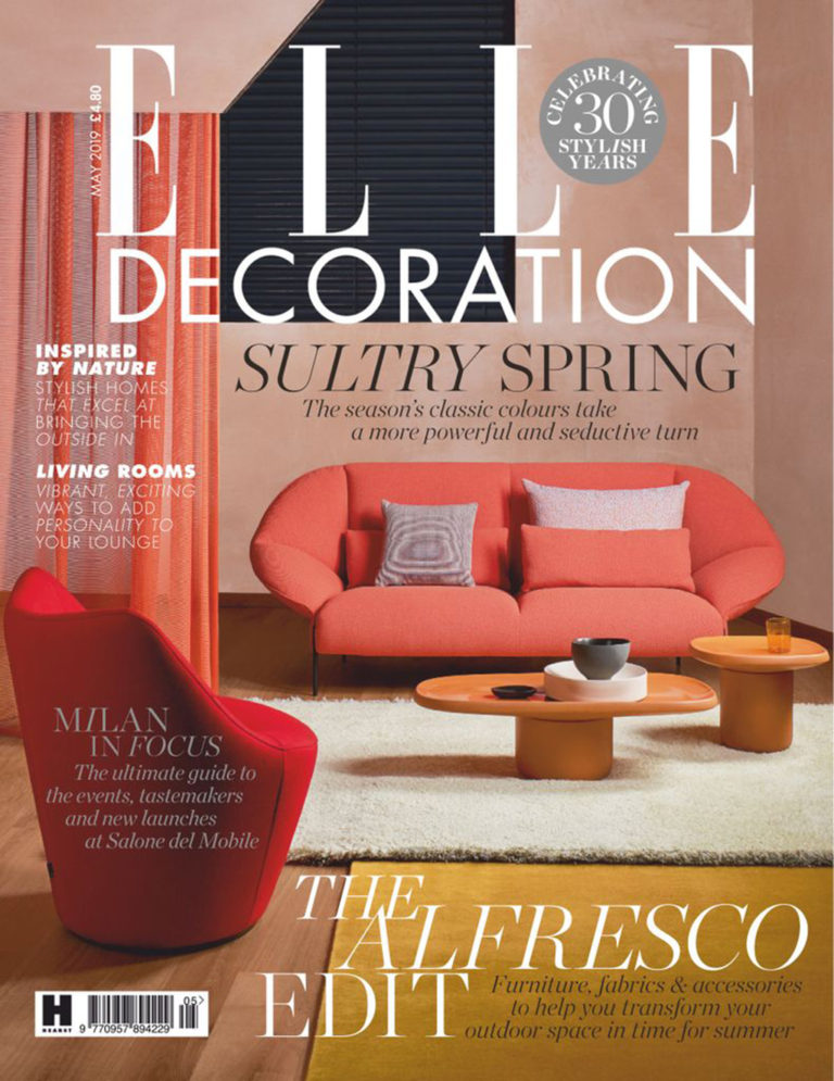 Simone Bonanni ELLE DECORATION UK May 2019